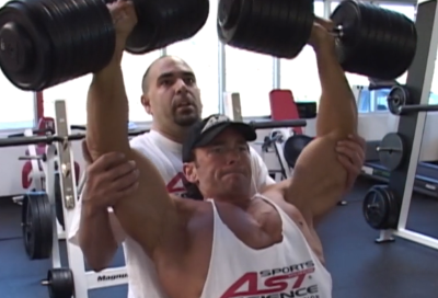 Lost Footage Shoulders Dumbbell Press